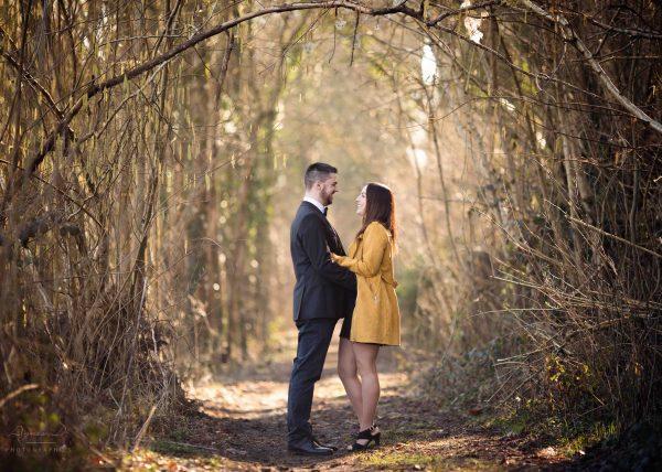 Shooting photo couple en extérieur seine et marne