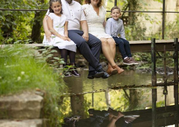 Séance photo famille en extérieur Landes