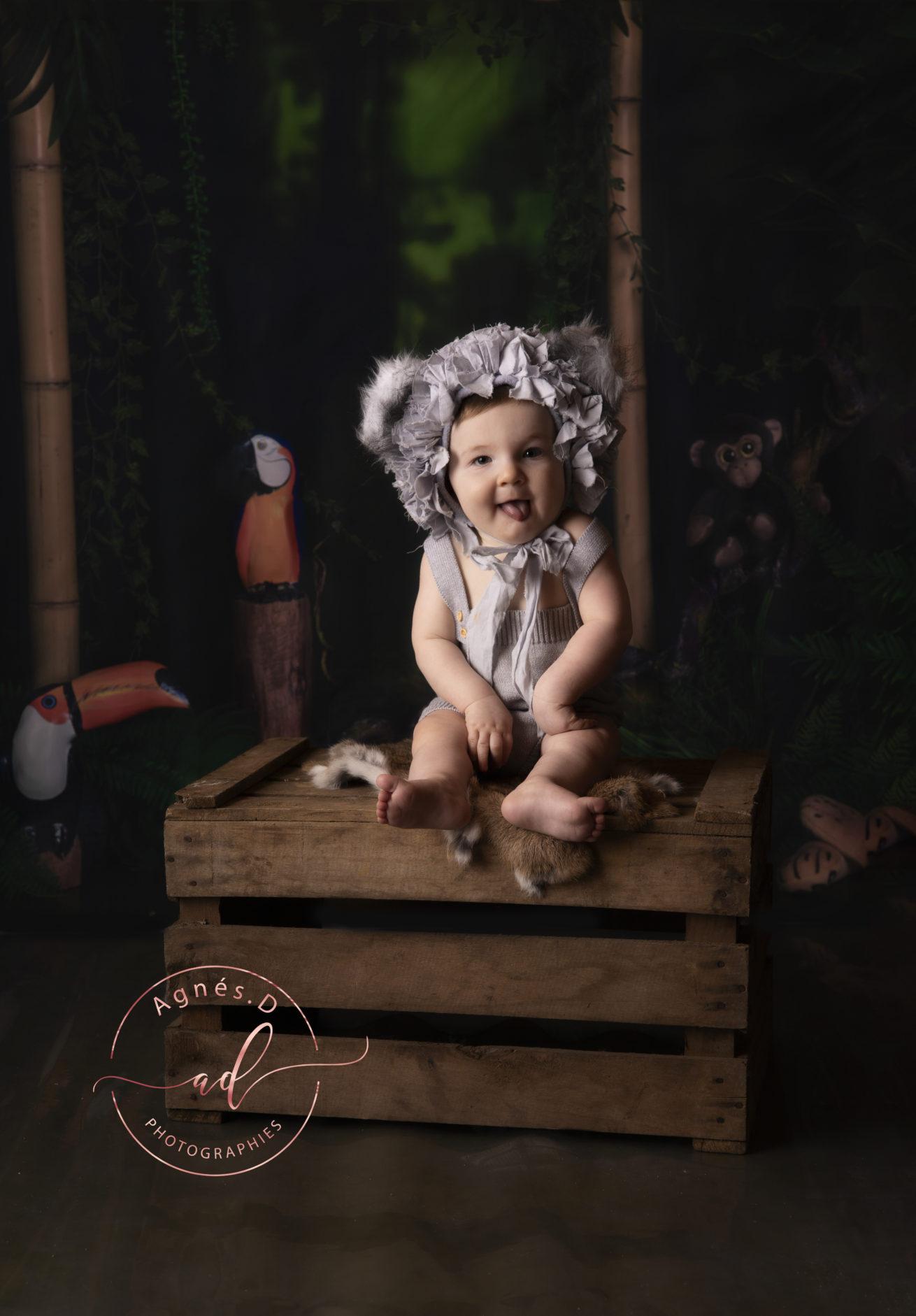séance photo enfant bonnet rigolo Dax, Bayonne, Pays Basque, Landes