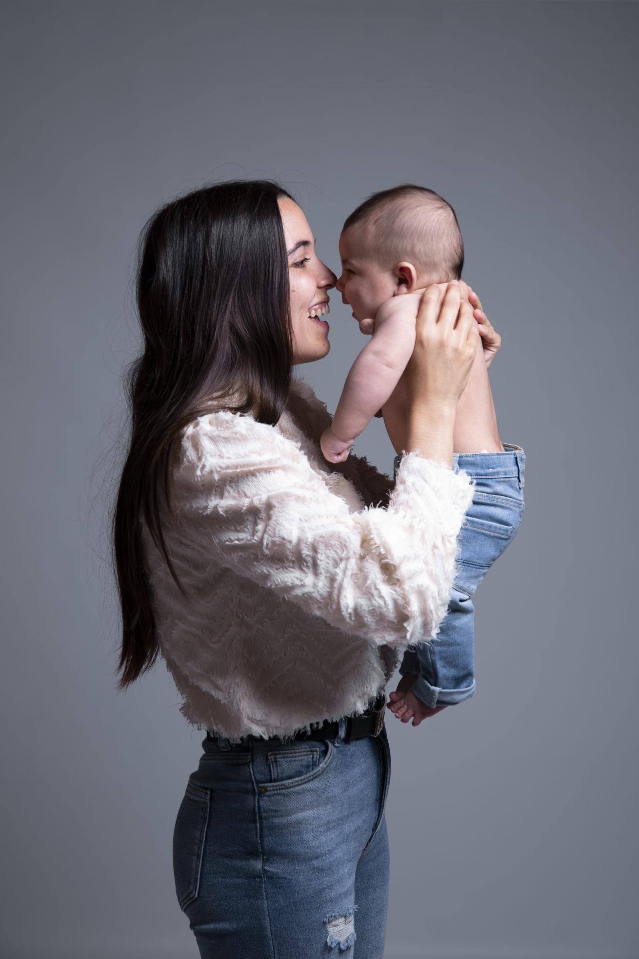 séance photo mere bébé