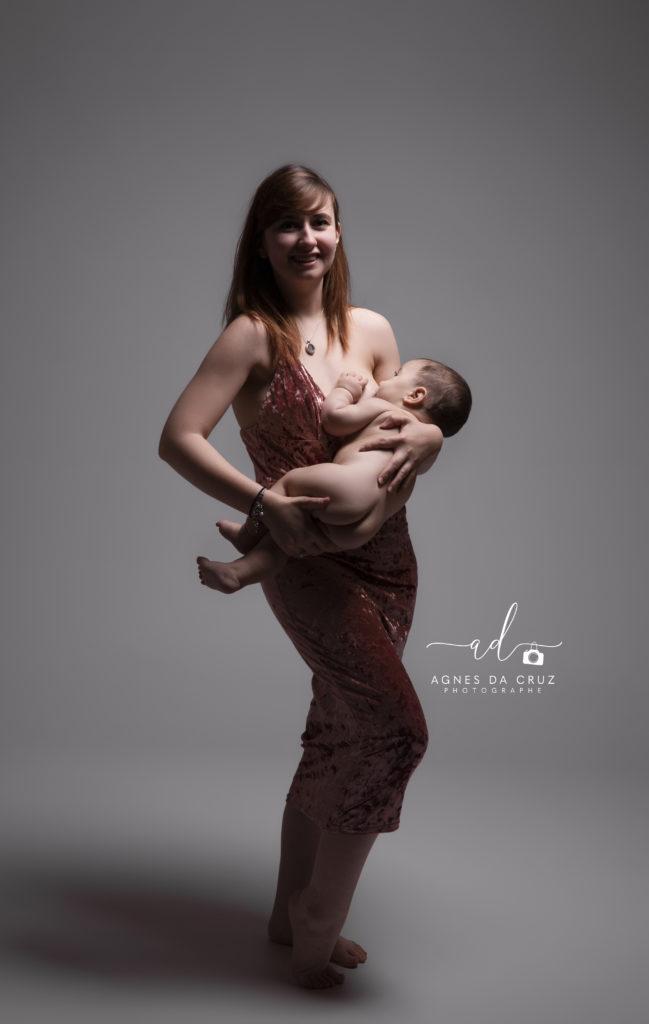 Seance photo mere et bébé