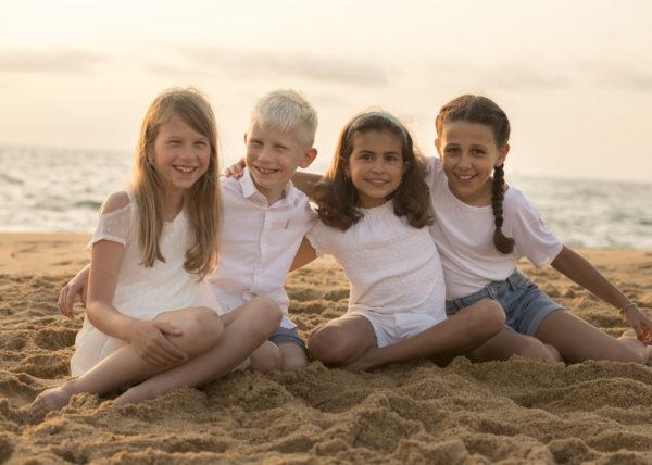Shooting famille plage Capbreton